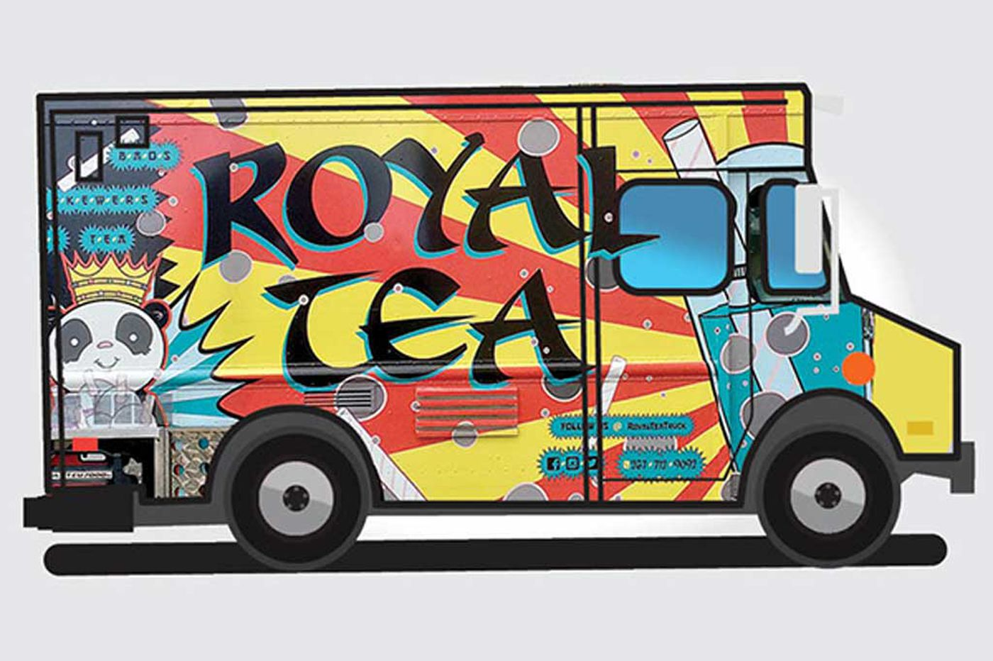 Truck Stop: Drexel's bubblicious Royal Tea