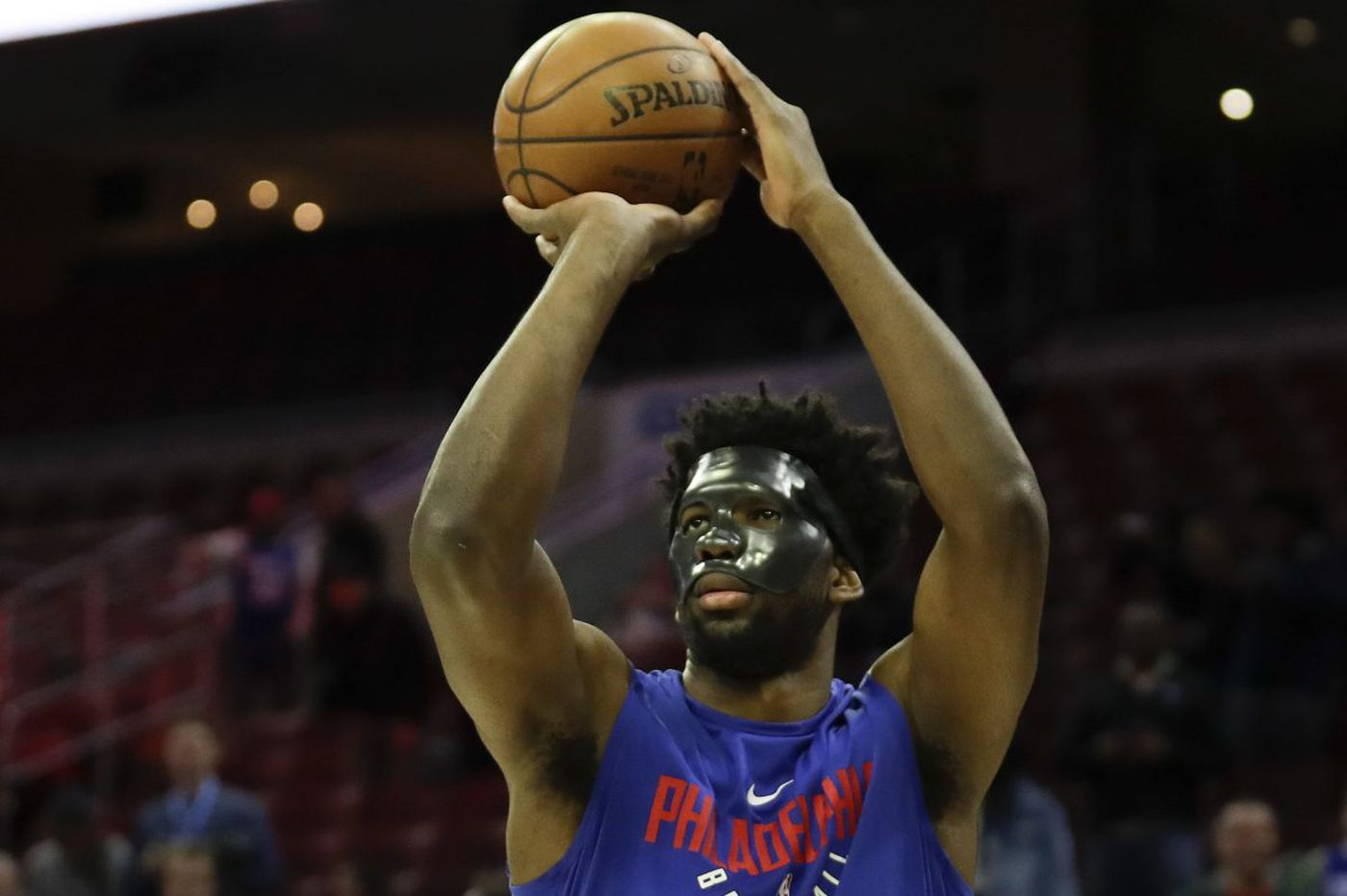 Sixers' Joel Embiid feeling better, but not ready to play