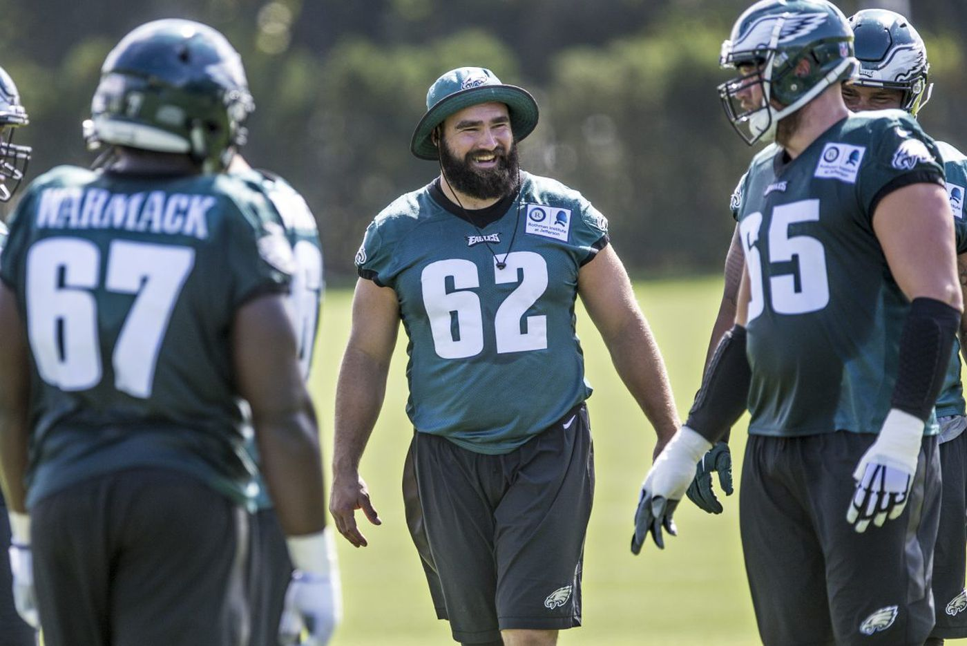Against Redskins, Eagles' O-line must block out confusion