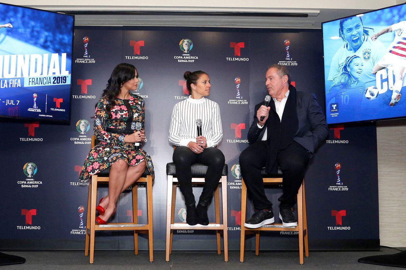 Telemundo unveils 2019 Women's World Cup, Copa América broadcast plans