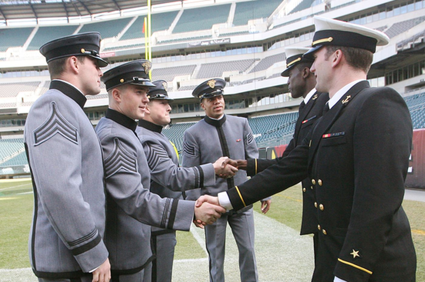 Mooney blossoms at Army