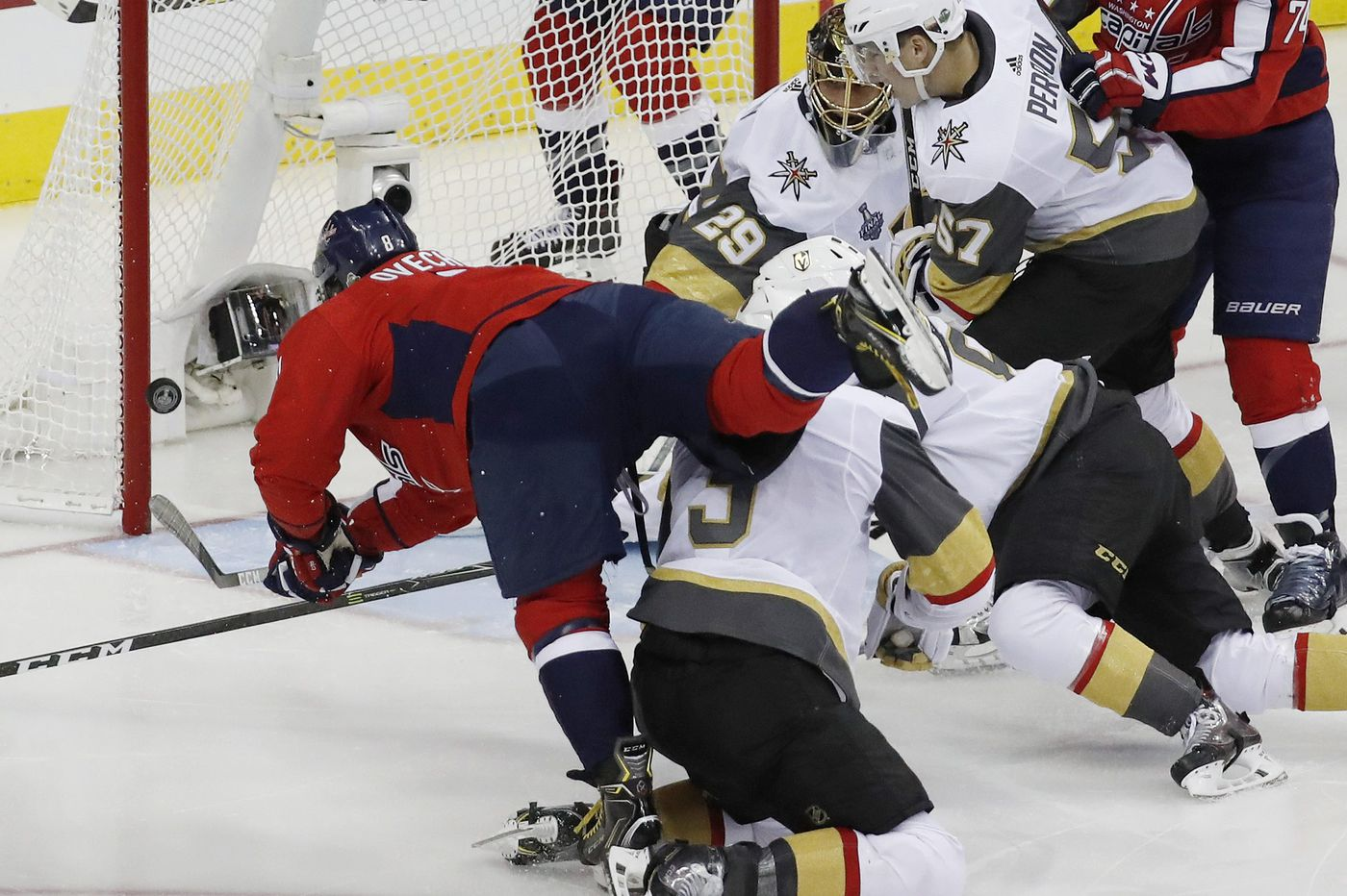 With Monday's Game 4, Capitals will try to put Vegas in deep hole and move closer to first Stanley Cup