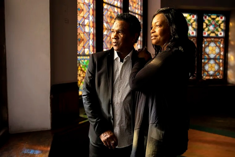 Clive Thompson and wife Oneita at Tabernacle United Church on Friday, Dec. 18, 2020. They'll be leaving the church after more than two years living in sanctuary  to avoid deportation.