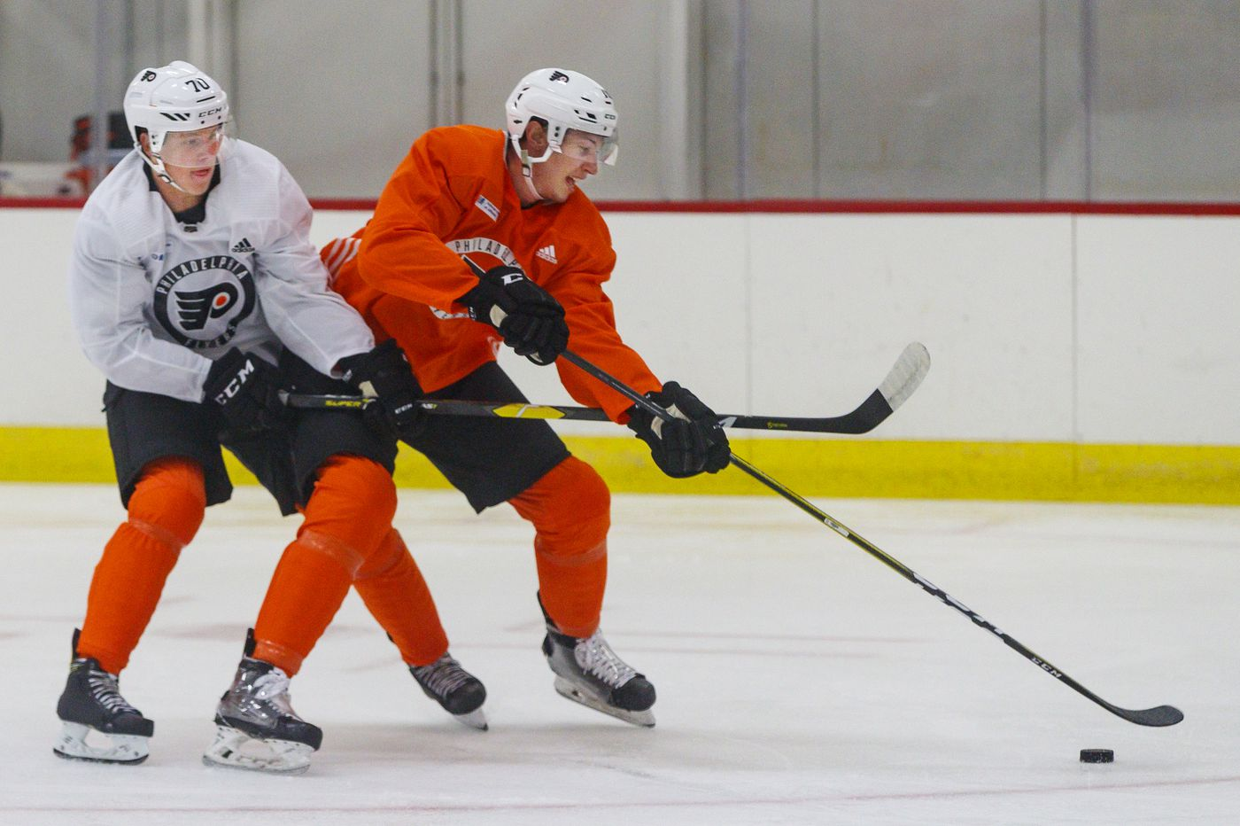 Isaac Ratcliffe showing why Flyers moved up in the draft last year
