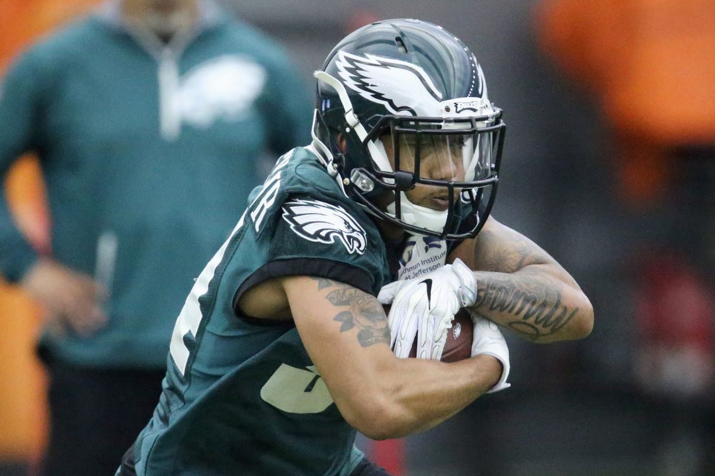 Duce Staley and Donnel Pumphrey make peace during Eagles offseason   Marcus Hayes