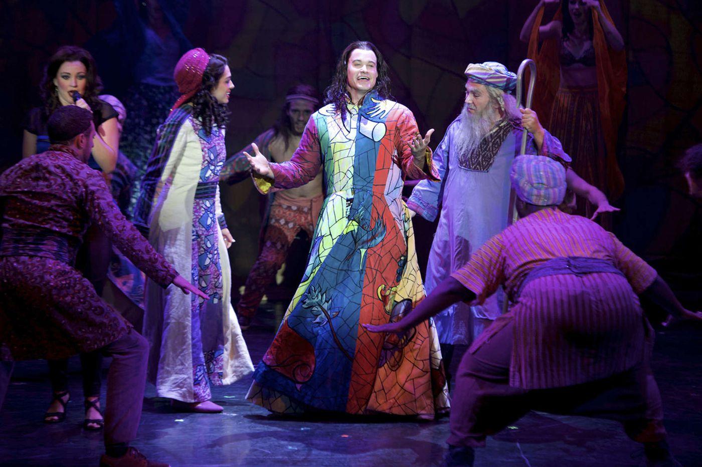 Joseph rocks his 'Dreamcoat' at Merriam Theater