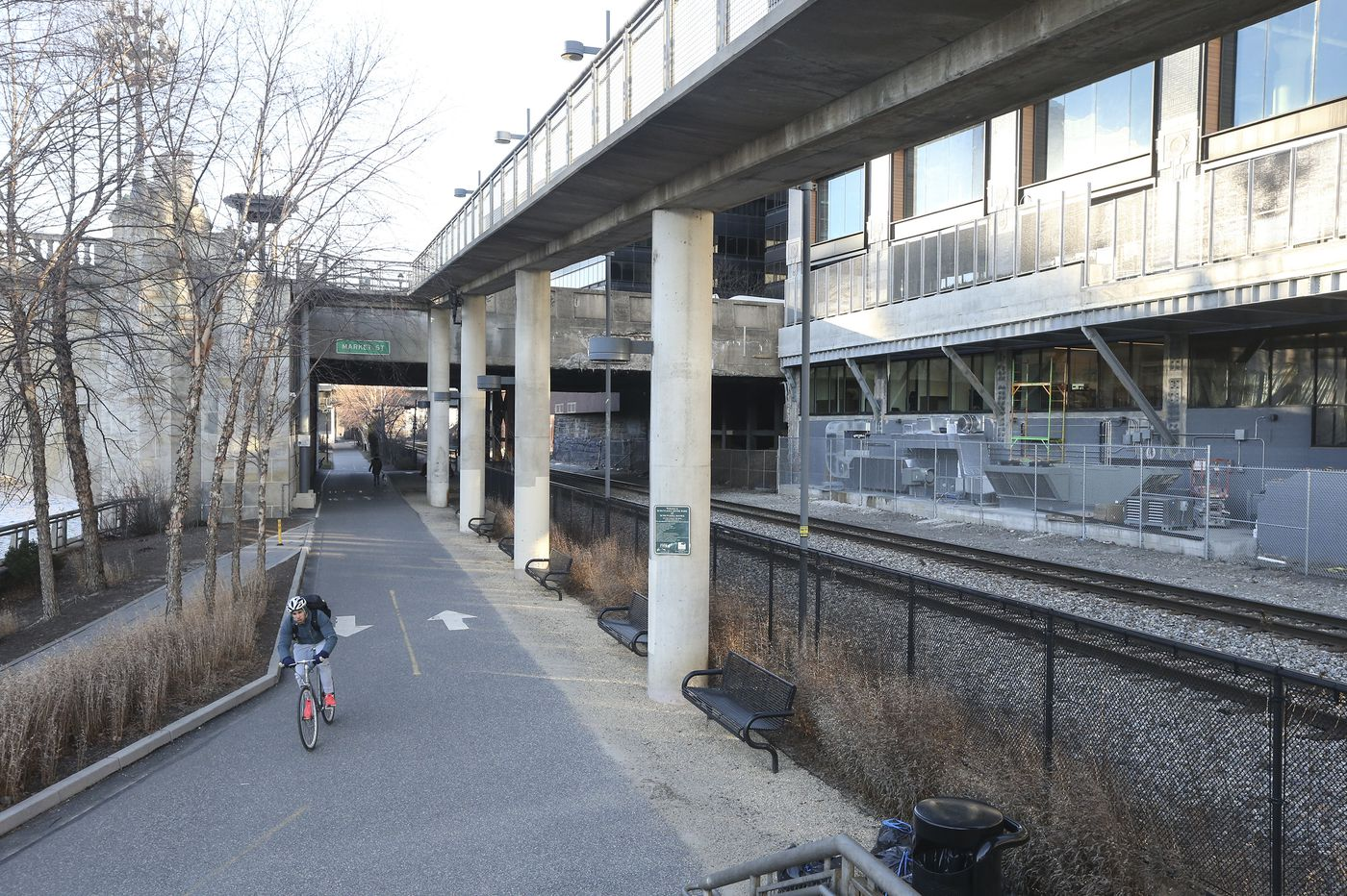Seeking peace and quiet on the Schuylkill River Trail, finding noisy fans instead | Inga Saffron