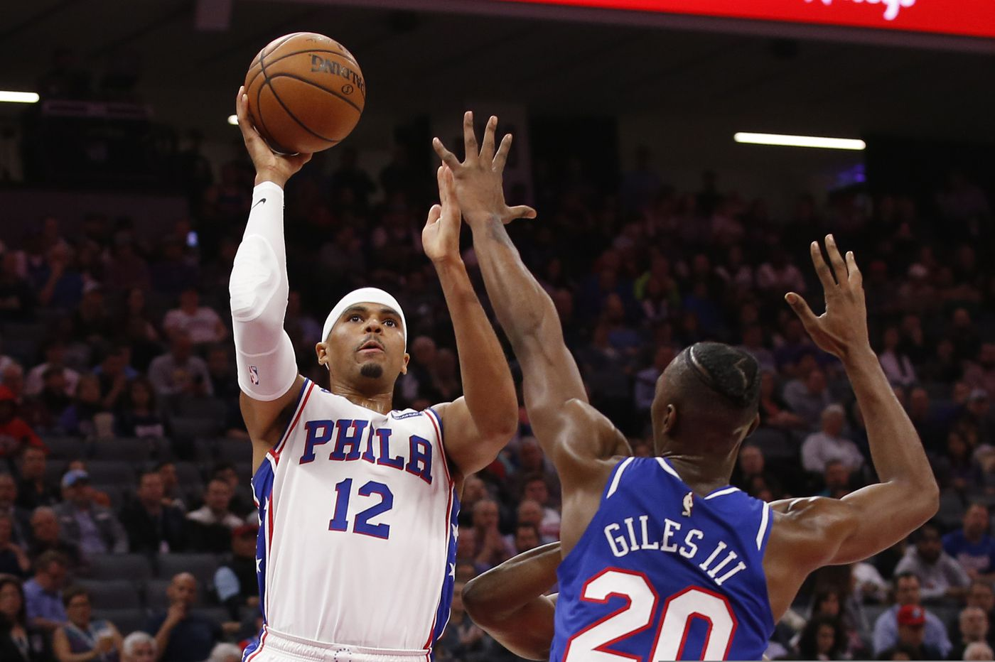 Undermanned Sixers top Sacramento Kings, 125-108, to snap nine-game road skid