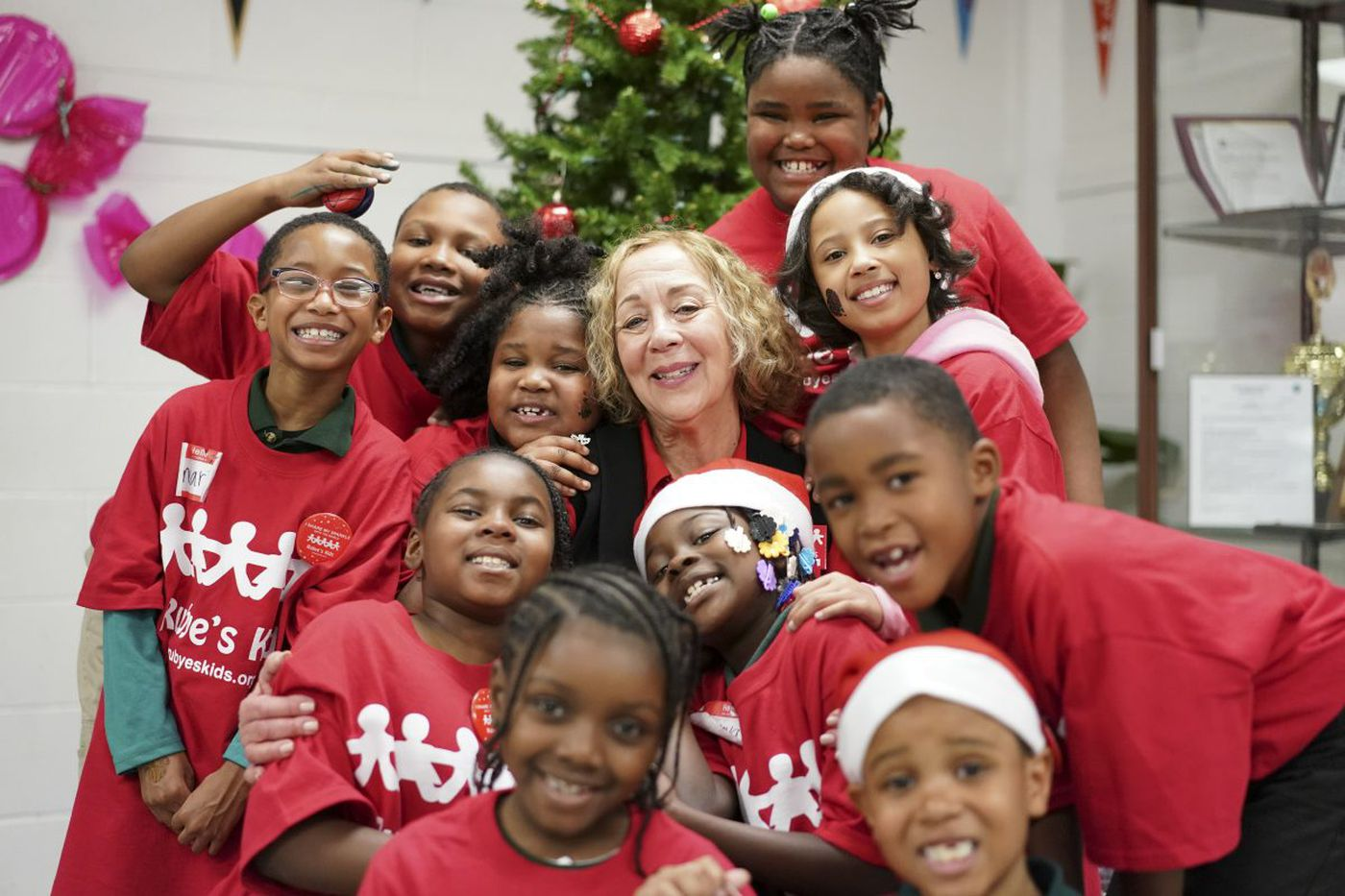 Santa, Spider-man and cheer: For one final time, holiday party thrown in N. Philly woman's honor