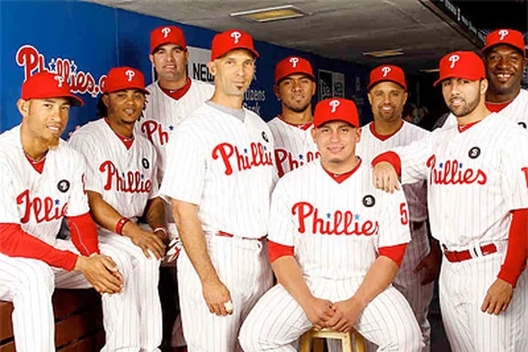 The Phillies' current crop of Latin American players includes stars such as Carlos Ruiz and Raul Ibanez. (Yong Kim/Staff Photographer)