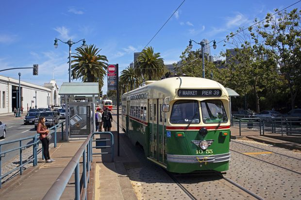 The streetcars of San Francisco are a direct (trolley) line to the past