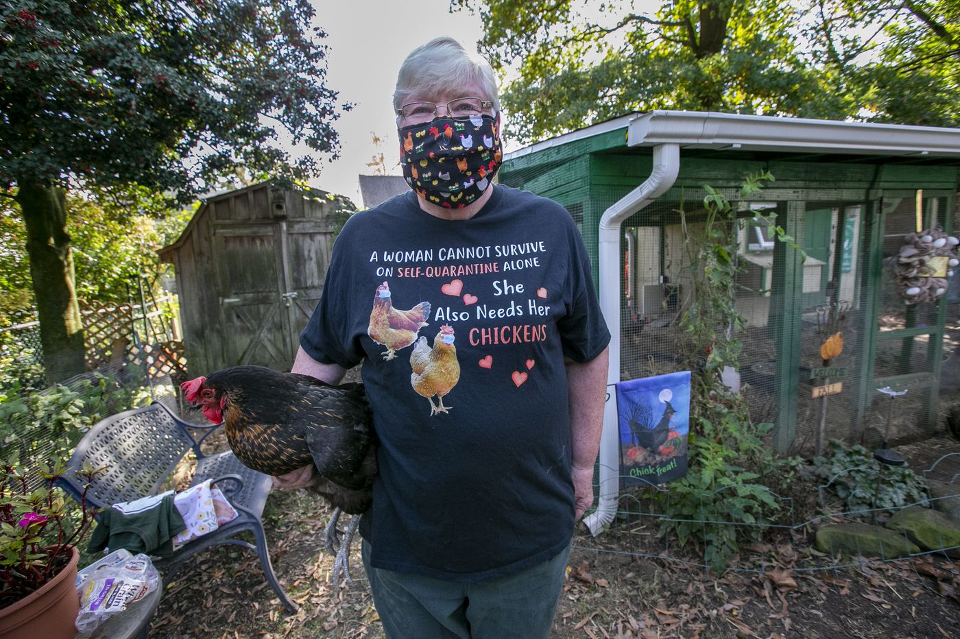 This 'chicken lady' of South Jersey really is for the birds
