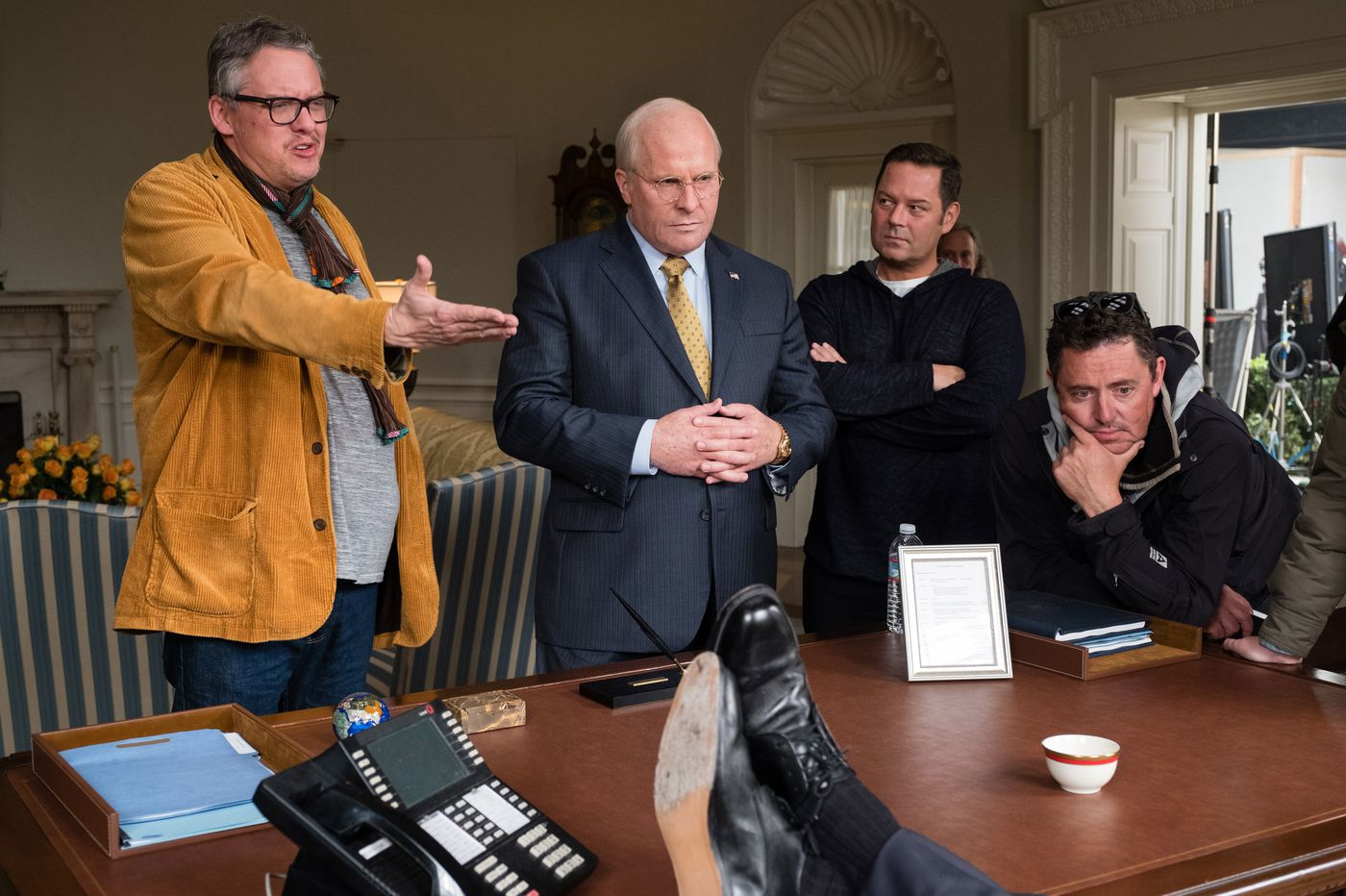 Director Adam McKay talks Dick Cheney biopic 'Vice,' moving from comedy to drama, and how Philly