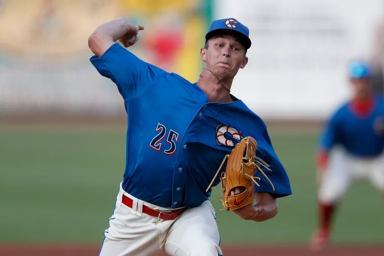 Phillies top pitching prospect Mick Abel has a 4.43 ERA and 66 strikeouts in 44 2/3 innings over 14 starts for Clearwater.