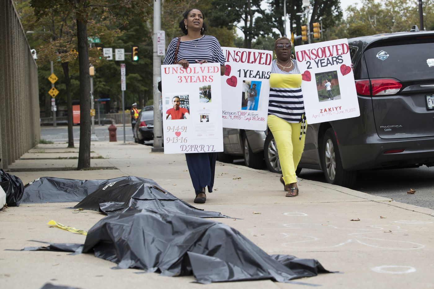 When you hold a silent protest against unsolved murders and the police commissioner shows up | Helen Ubiñas