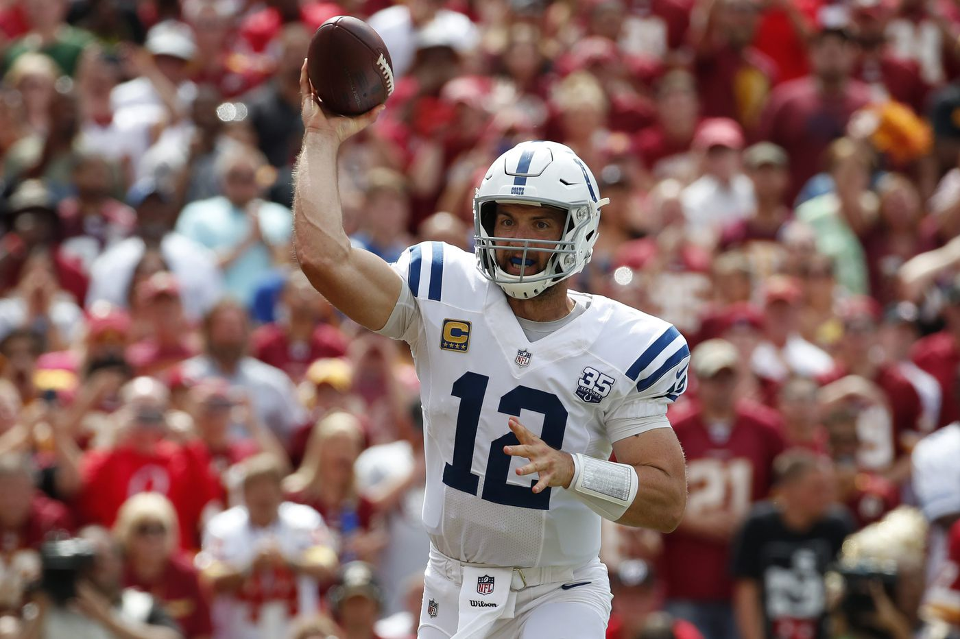 Colts QB Andrew Luck will come to Philadelphia shaking off rust but still dangerous