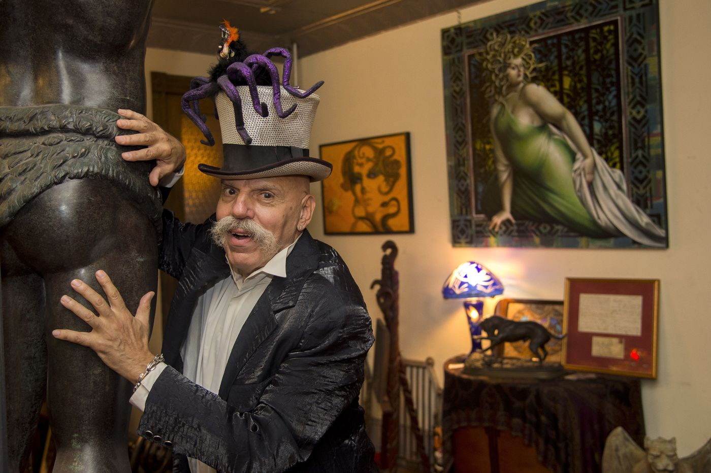 In 50 years of Halloween parties, Henri David is a gem | Stu Bykofsky