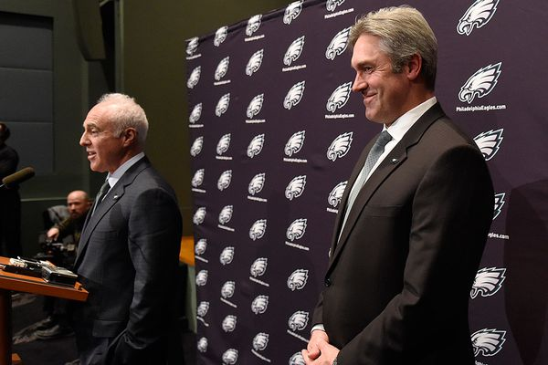 Eagles owner Jeffrey Lurie sees a 'very bright' future, impressed with Doug Pederson's 2018 coaching job