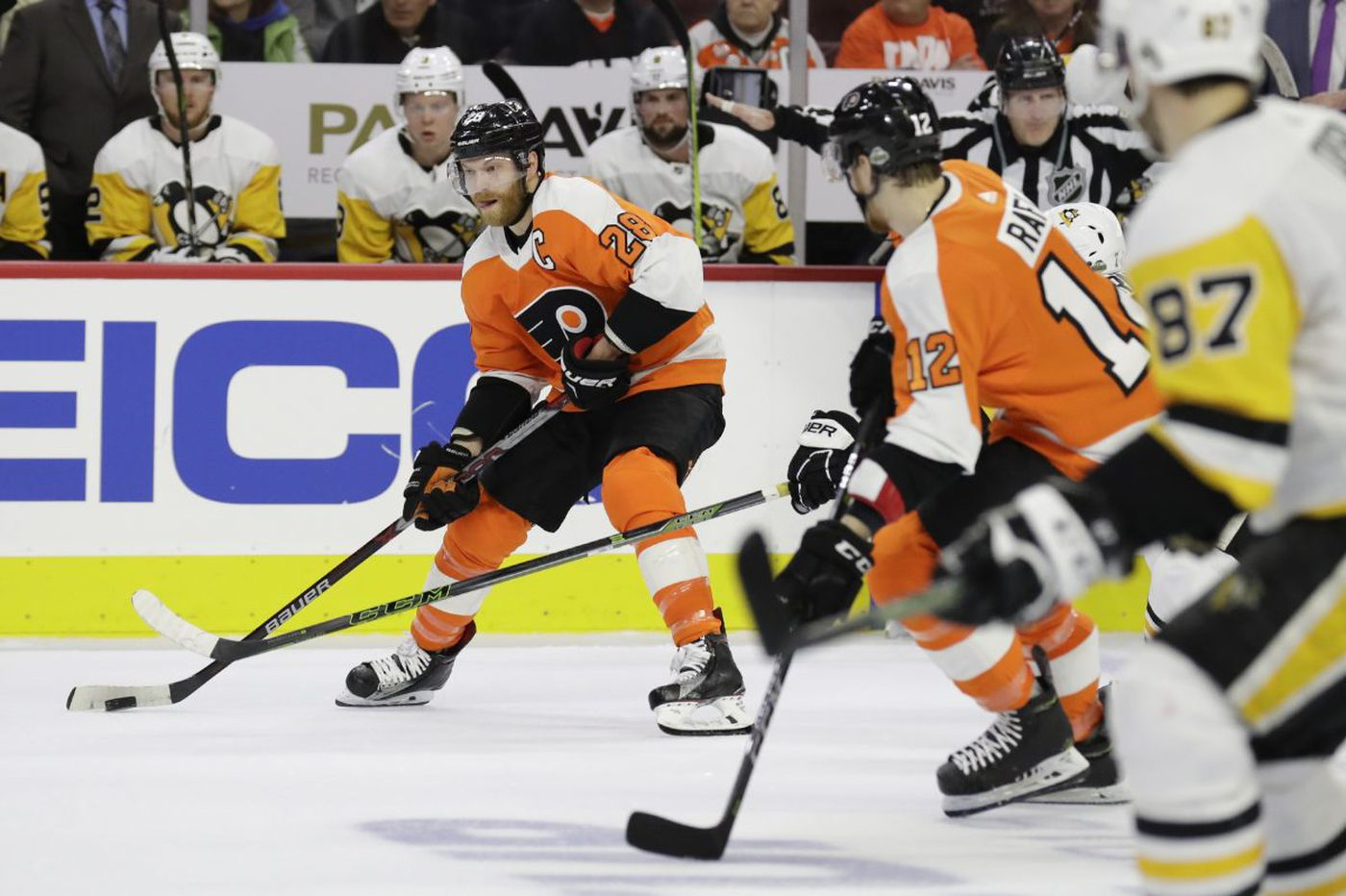 Grading the Flyers: Most forwards slipped in the postseason