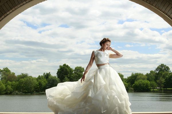Weddings 2015: Say 'I do' to two pieces