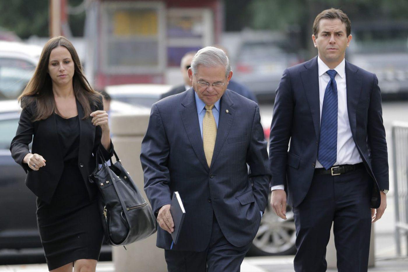 Judge warns Feds against 'pulp fiction' in Sen. Bob Menendez bribery trial