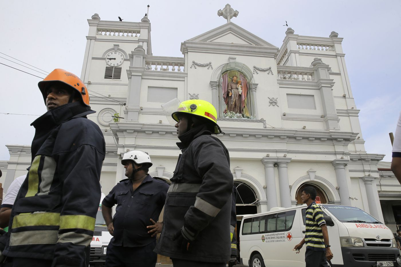 Explosions kill at least 190 in Sri Lanka; Philly continues Easter traditions; Sixers go up 3-1 over Nets
