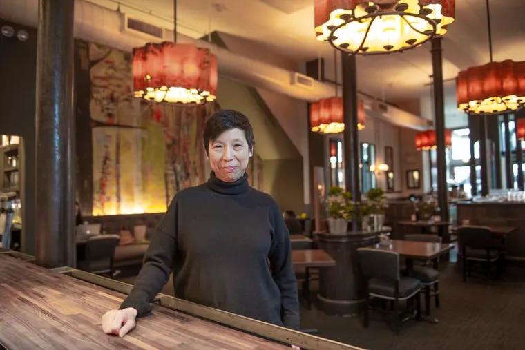 Ellen Yin, owner of Fork stands in her Old City establishment on March 1, 2021.