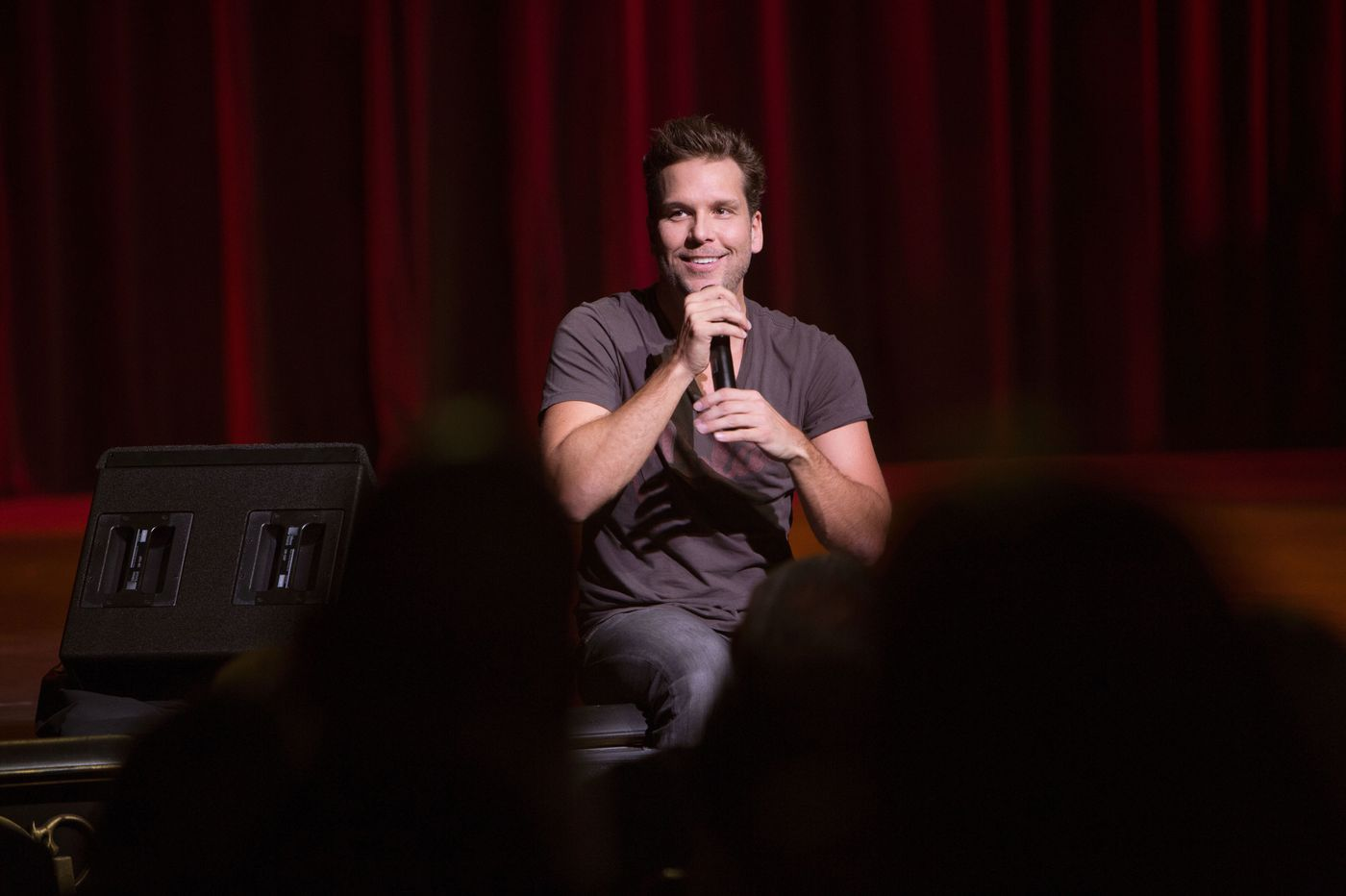 Dane cook back on tour on why philly is one of his - Louis ck madison square garden december 14 ...
