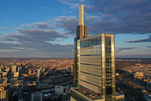 Four Seasons hotel at Philly's new Comcast tower to open in August. It's not for the frugal traveler.
