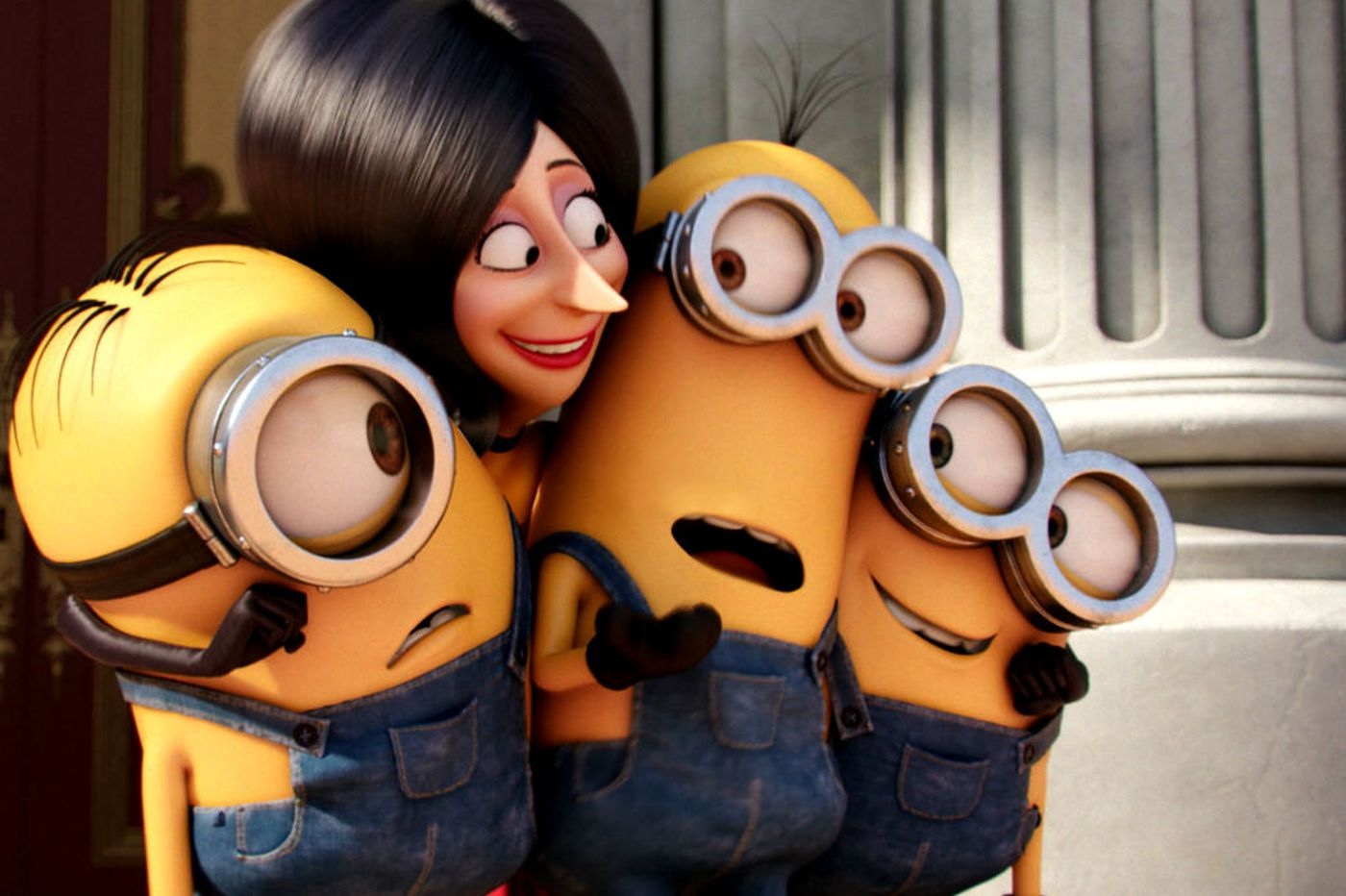 'Minions' throws all but the kitchen sink