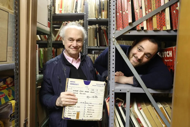 Frank Lipsius and his son Charlie, owners of Jamie Record Co. helped get all of the music for Green Book, the Oscar contender about pianist Don Shirley's trip through the South, Monday November 19, 2018.