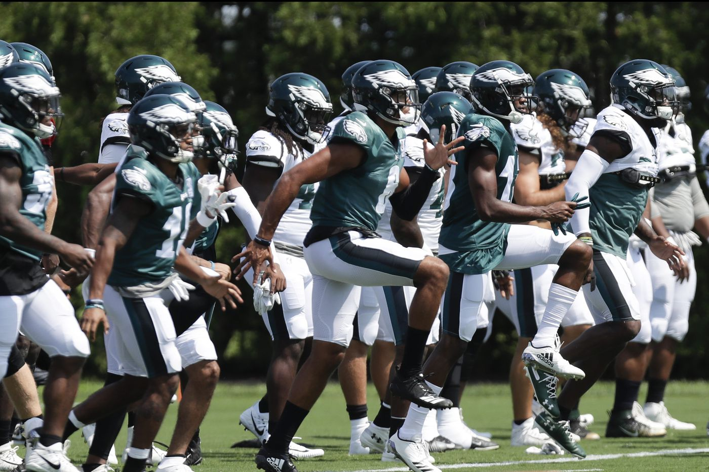 Eagles chat replay: Zach Berman talks roster decisions, Joe Douglas and more