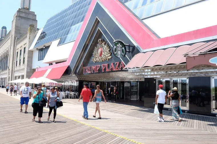 Trump Plaza Hotel & Casino is expected to close in September.  (ED HILLE / Staff Photographer)