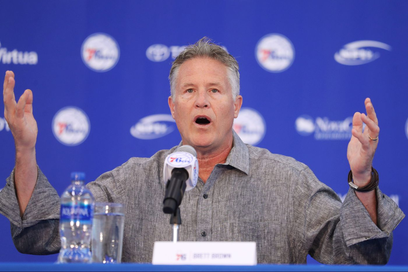 Sixers wisely leave Brett Brown in power | Marcus Hayes
