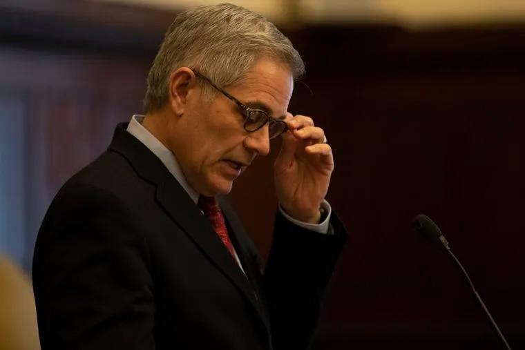 Philadelphia District Attorney Larry Krasner.