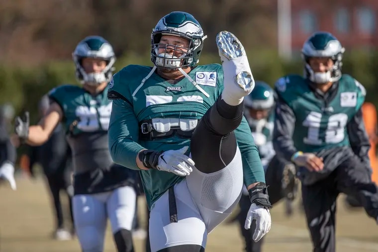 Eagles guard Brandon Brooks has confirmed the return of anxiety.