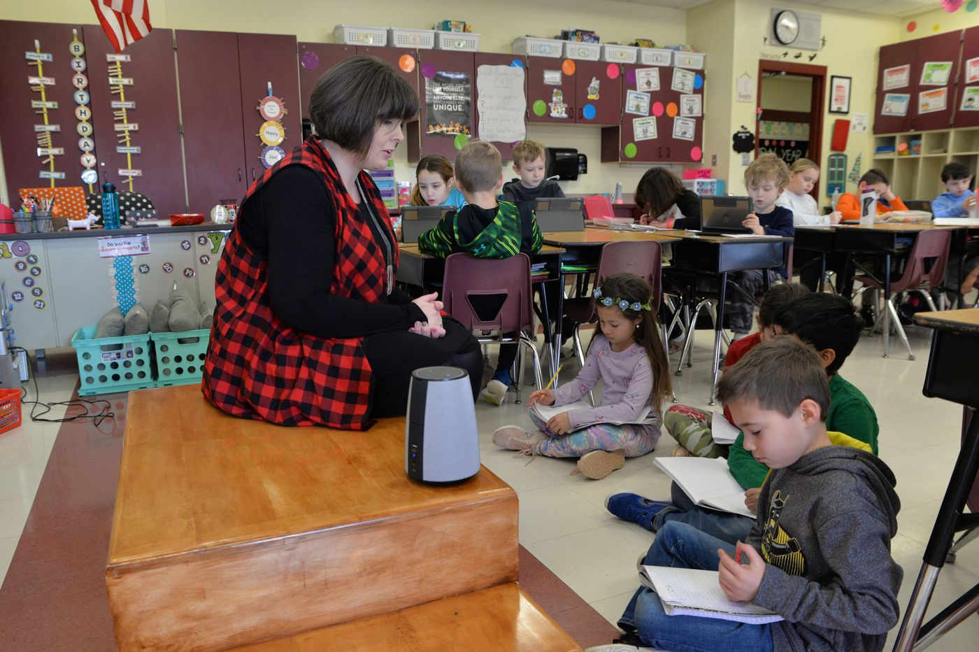 Alexa, can you help kids learn and teachers manage a classroom? At Garnet Valley, the answer is: 'Yes'
