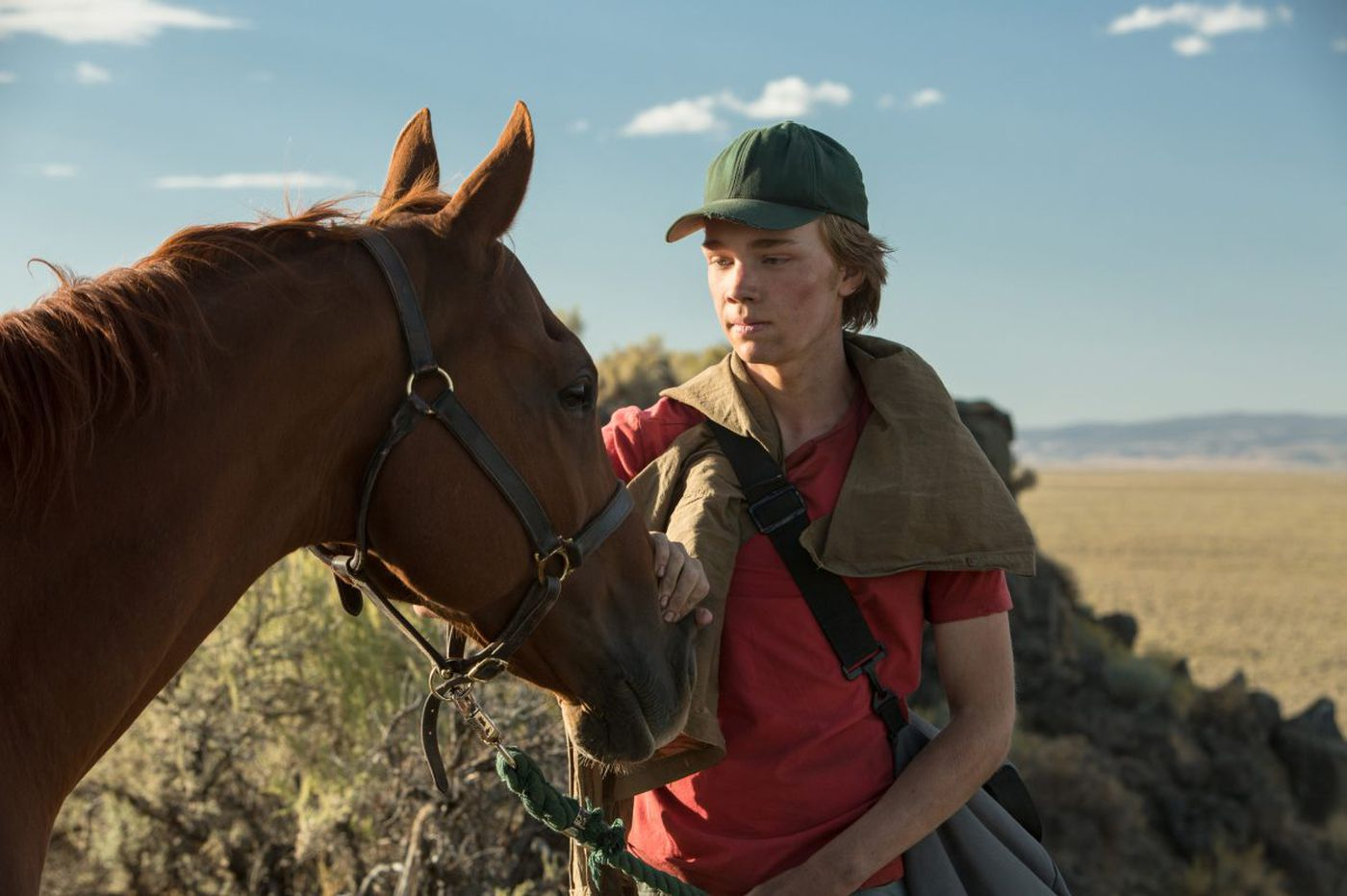 'Lean on Pete' review: A boy and his horse, lost in a world that doesn't miss them.