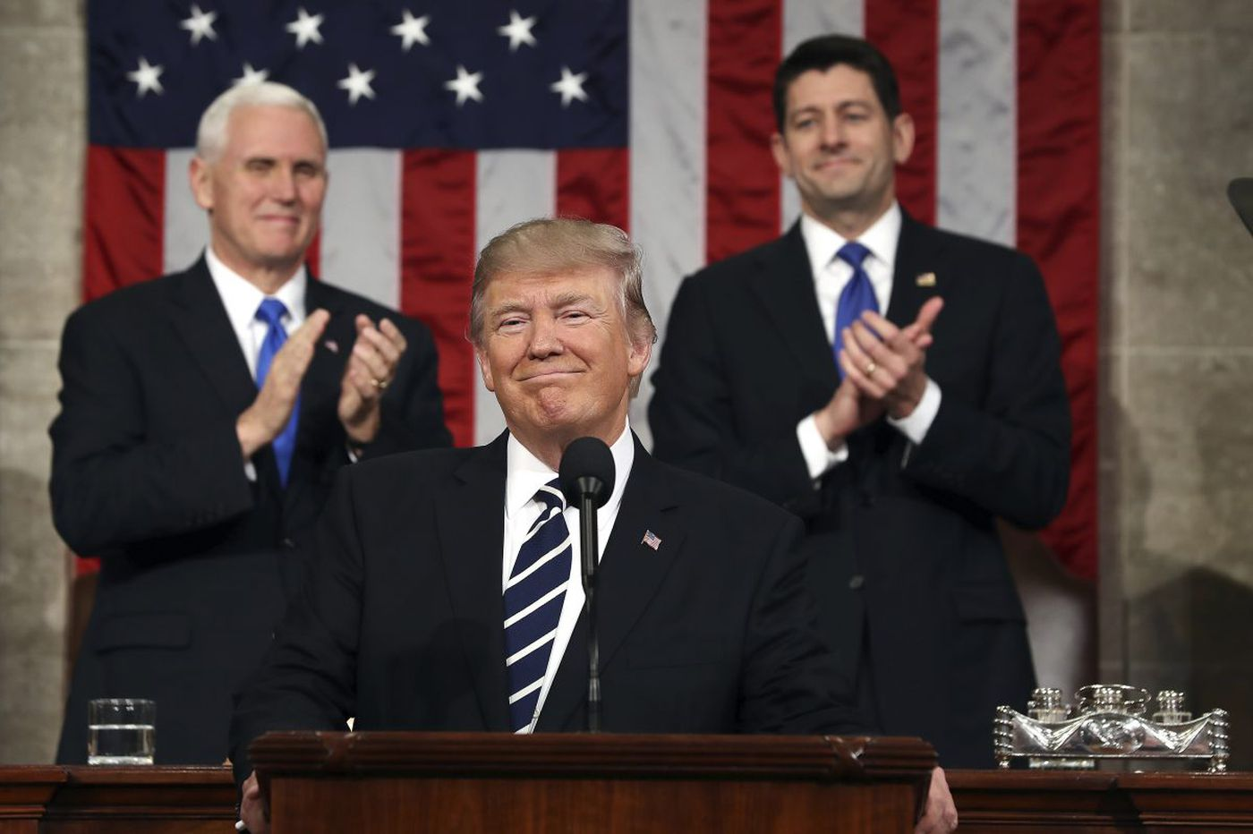 Donald Trump's State of the Union: Let's hope for a lasting message and not a fleeting tweet   Editorial