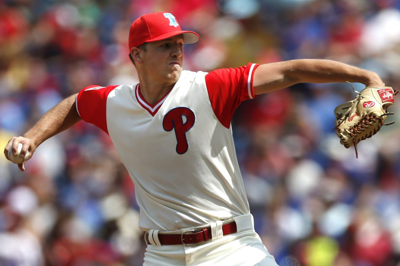 Phillies rookie Nick Pivetta survives another rocky first inning
