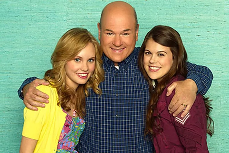 """Starring in """"10 Things I Hate About You"""" are (from left) Meaghan Jette Martin, Larry Miller and Lindsey Shaw."""