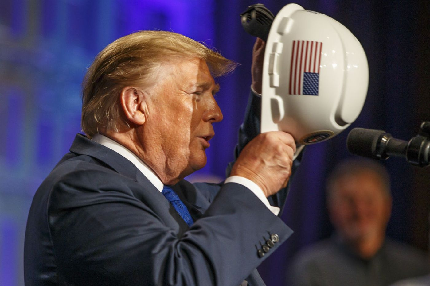 President Trump hails 'best economy in our history' in Philly speech to electrical contractors