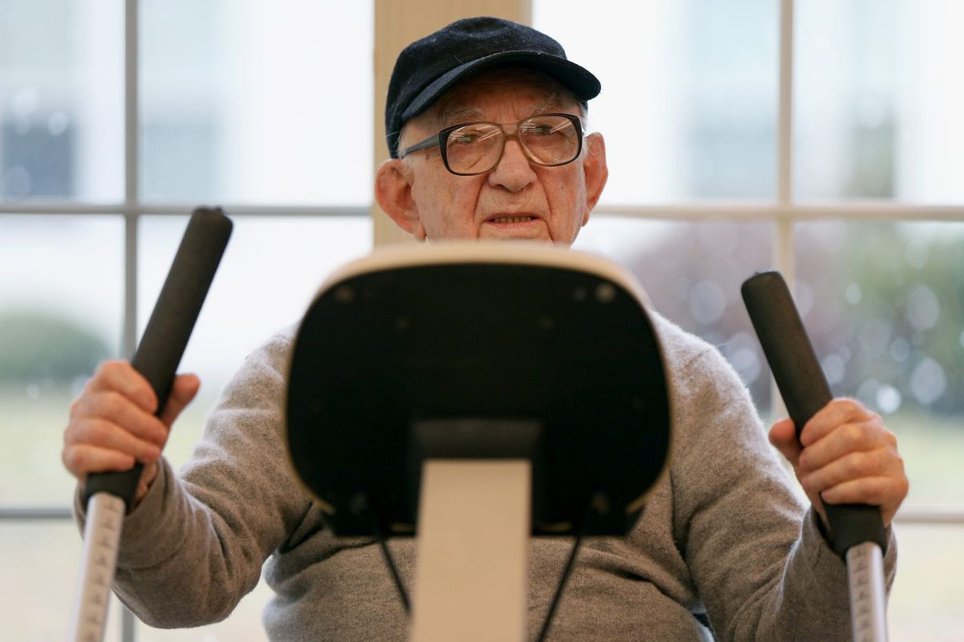 At 101, he knows a thing or two about working out and staying fit