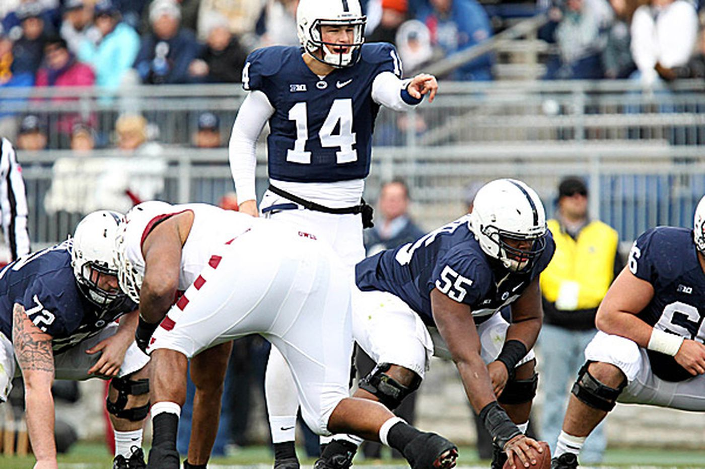 Penn State offensive coordinator: 'You've got to try to find a way'