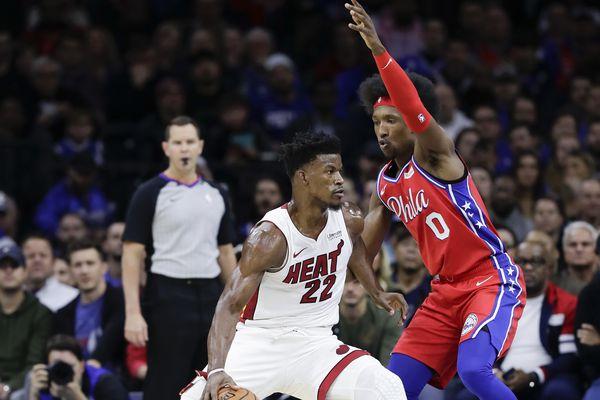 Sixers defense shows top form vs. Miami Heat with Toronto Raptors up next