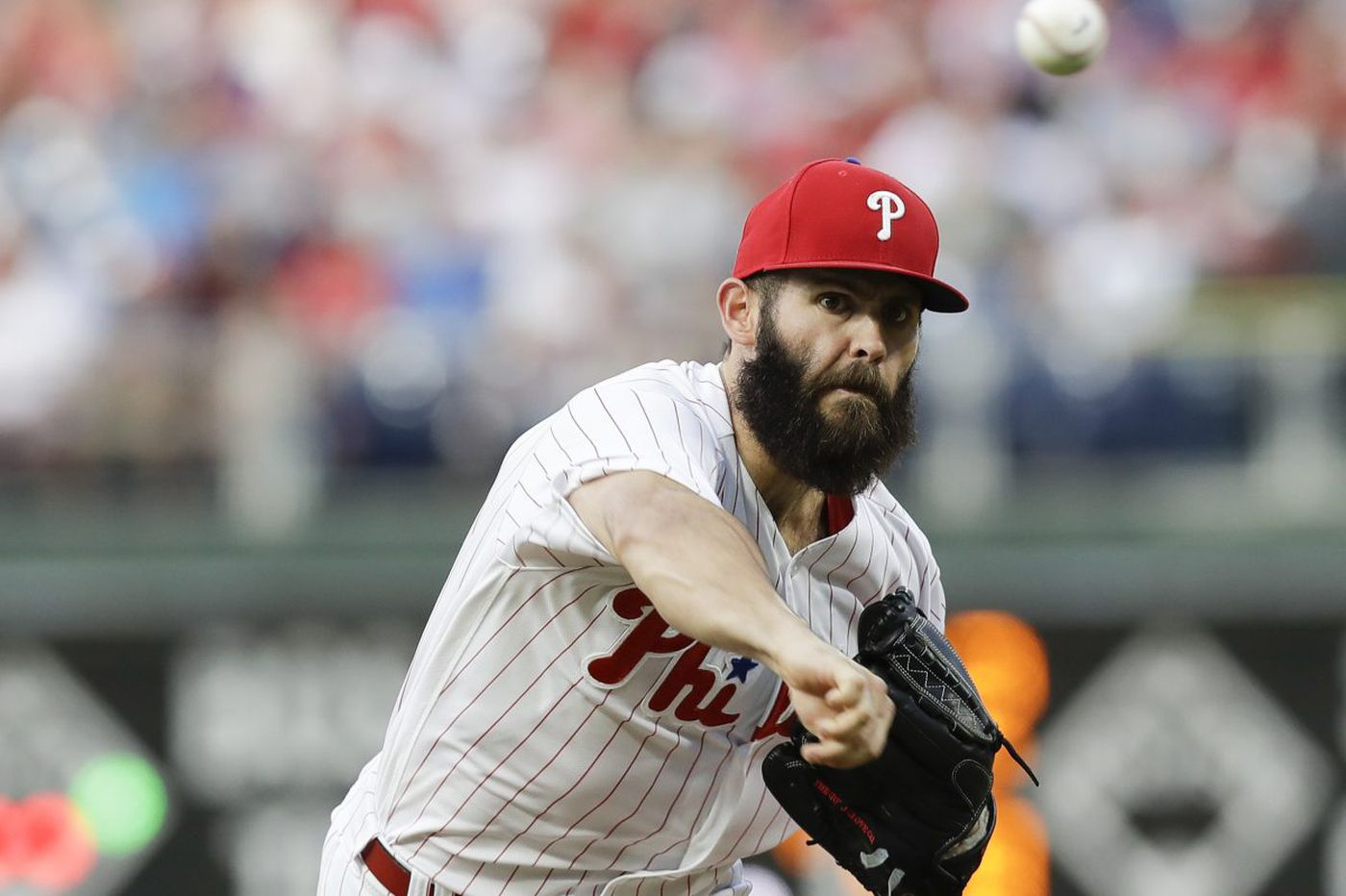 a982f2dcce3 Jake Arrieta pitches Phillies to  big  win against Braves in series finale