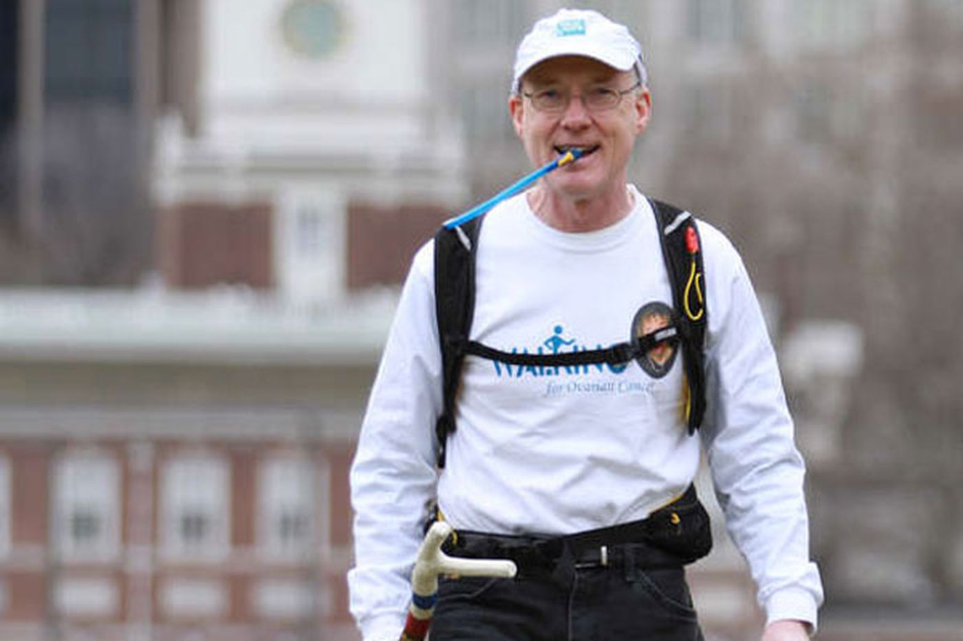 Well Being A Long Walk To Grieve To Fight Ovarian Cancer