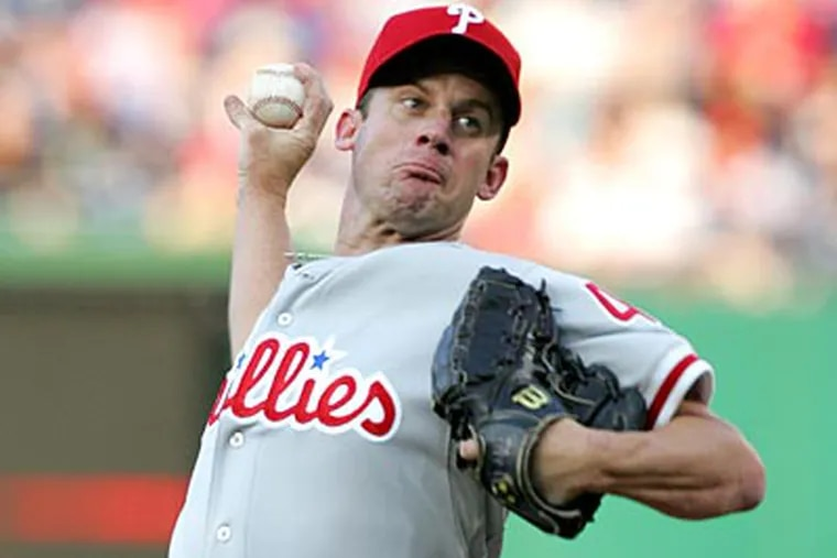 Roy Oswalt allowed has allowed at least 5 runs in his last three starts against the Marlins. (David Swanson / Staff Photographer)