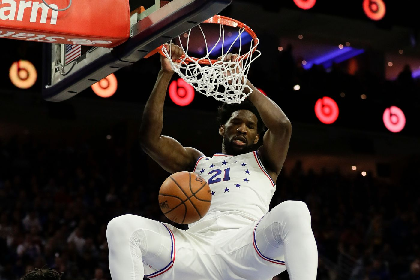 Joel Embiid to miss Saturday's game vs. Warriors due to knee tendinitis