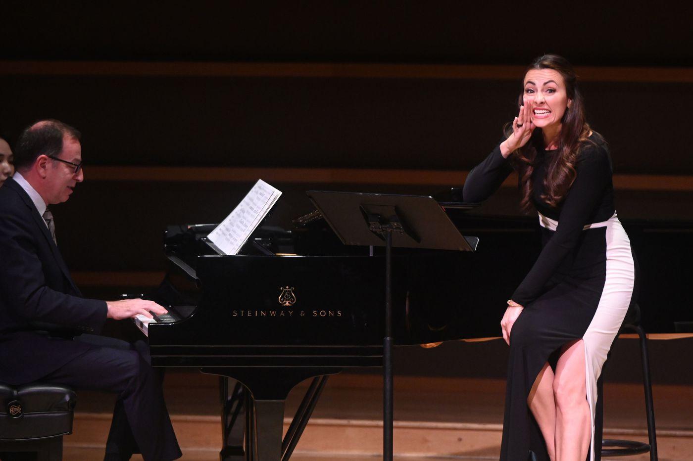 Isabel Leonard sings Leonard Bernstein, shedding superb new light — and lightness of being